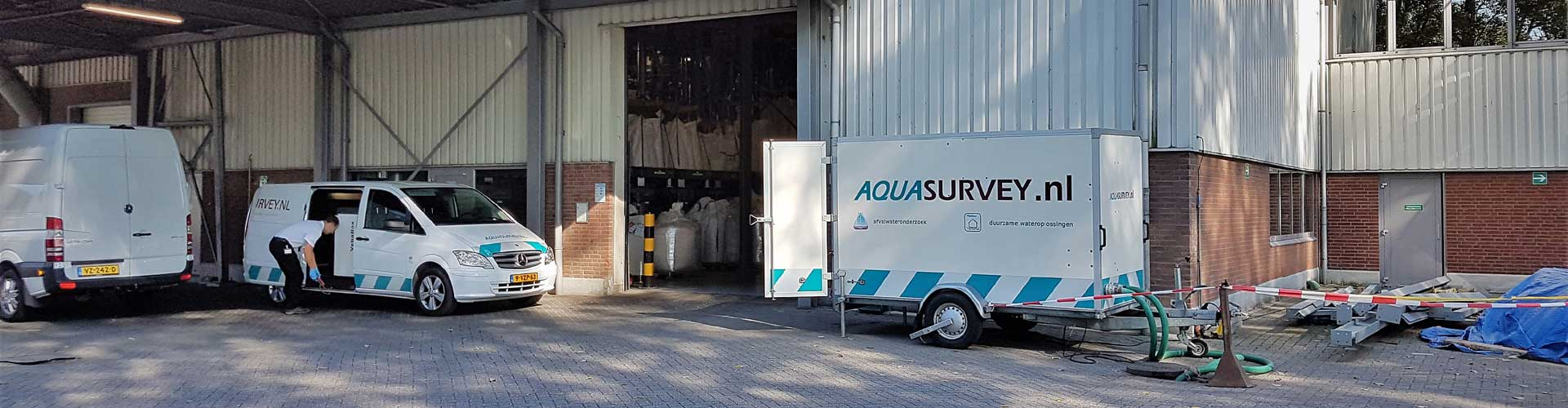 Aquasurvey overzicht meetopstelling HILE